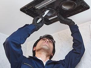 天井・換気扇の掃除